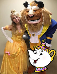 Beauty and Beast Event Characters for Party Rentals