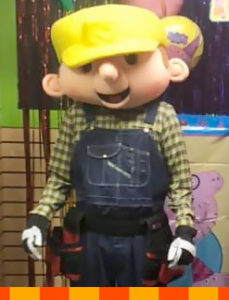 Bob the Builder Costumed Event Entertainer