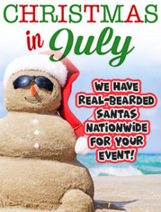 Christmas in July Event Services