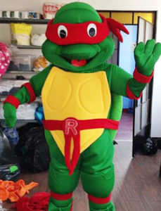 hire party ninja turtles entertainers
