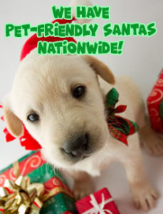 Pet-friendly Santas Nationwide for your event