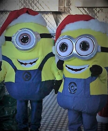 Holiday Minion Event Entertainers