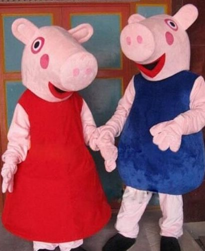 Peppa Pig George Pig Event Entertainment Costumed Actors